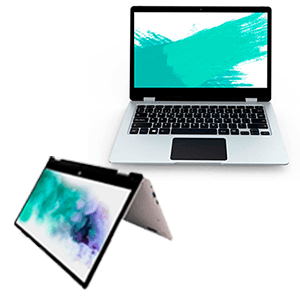 Prixton FLEX 13 Pro Convertible - 4Gb - 64Gb - Tactil - 13,3'' - W10P - Portatil