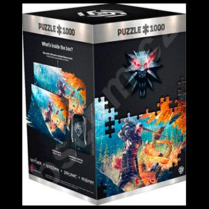 Puzzle The Witcher: Pelea con Grifo 1.000 piezas