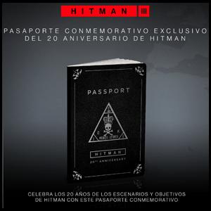 Hitman III - Pasaporte