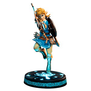 Estatua The Legend of Zelda: Breath of the Wild Link Collector´s Edition