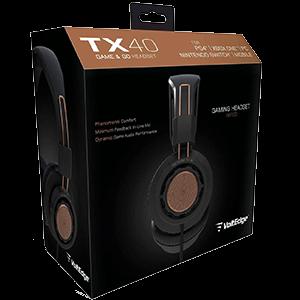 Auriculares Voltedge TX40 Universal