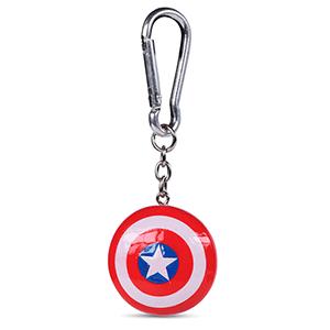 Llavero de Poliresina Marvel: Escudo de Capitán América