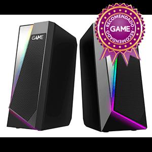 GAME SP220 2.0 RGB Speaker - Altavoces