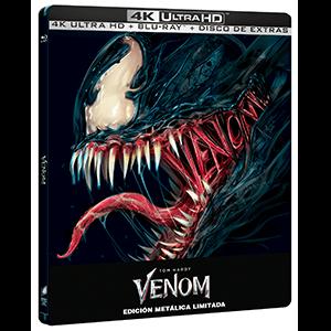 Venom 4K + BD + BD Extras - Edición Steelbook