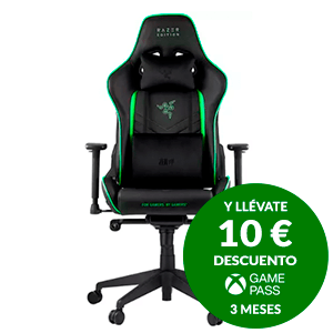 Razer Tarok PRO Negro-Verde - Sillas Gaming