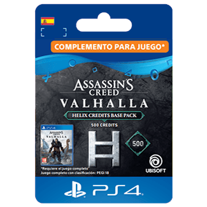 Assassin's Creed Valhalla - Helix Credits Base Pack 500 PS4