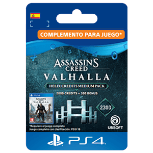 Assassin's Creed Valhalla - Helix Credits Large Pack 4200 PS4