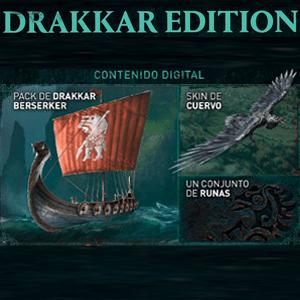 Assassin's Creed Valhalla contenido extra Drakkar Edition PS4