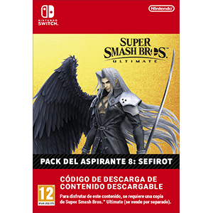Super Smash Bros Ultimate - Sephiroth Challenger Pack NSW