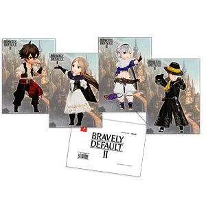 Bravely Default II - Set de postales