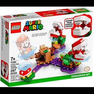 LEGO Super Mario Set de Expansión: Desafío desconcertante de las Plantas Piraña (REACONDICIONADO)