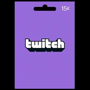 Pin Twitch 15 Euros