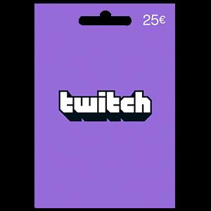 Pin Twitch 25 Euros