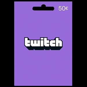 Pin Twitch 50 Euros