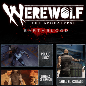 Werewolf The Apocalipse E. DLC The Exiled One PS5