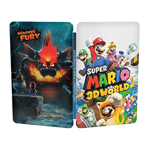 Super Mario 3D World + Bowser´s Fury - Steelbook