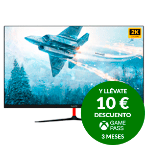 GAME M27G2K 27'' VA QHD 2K 144Hz con Altavoces - Monitor Gaming