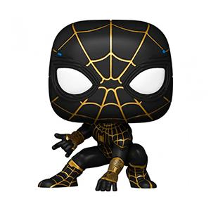 Figura Pop Spider-Man No Way Home: Spider-Man Black&Gold Suit