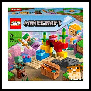 LEGO Minecraft: El Arrecife de Coral