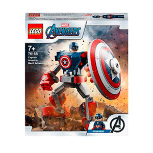 LEGO Marvel: Armadura Robótica del Capitán América
