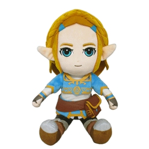 Peluche The Legend of Zelda Breath of the Wild: Princesa Zelda 21cm