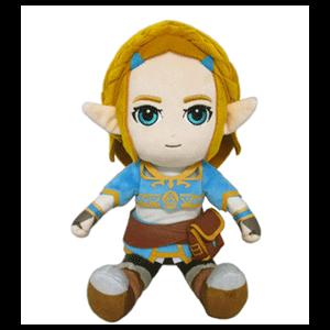 Peluche The Legend of Zelda Breath of the Wild: Princesa Zelda 21cm