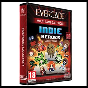 Cartucho Evercade Indie Heroes 1