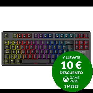 GAME KX422 TKL Mechanical RGB Red Switch - Teclado Gaming Mecánico