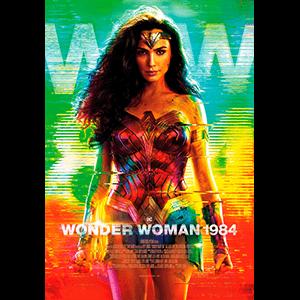 Wonder Woman 1984 - póster