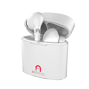 Auriculares Nortess Bluetooth 5.0 TWS Blancos