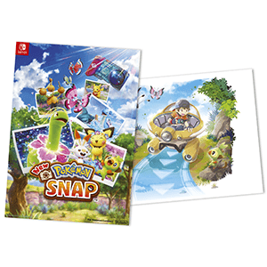 New Pokémon Snap - póster