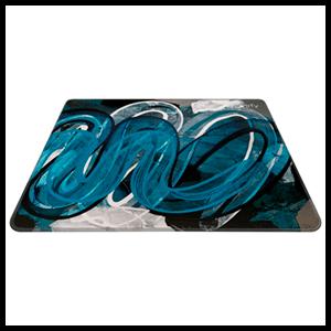 Xtrfy GP4 Street Blue (460 x 400 mm) - Alfombrilla Gaming