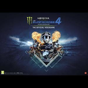 Monster Energy Supercross 4 - Póster