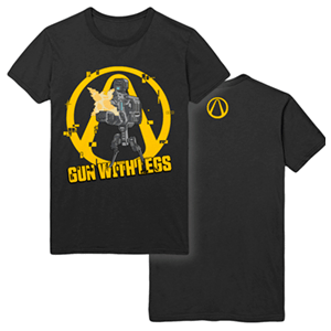 Camiseta Borderlands 3: Gun with Legs Talla M (REACONDICIONADO)