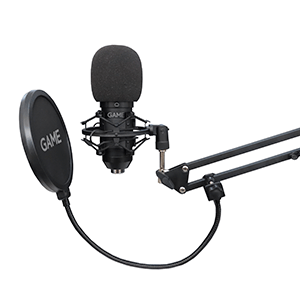 GAME MIC420 USB PRO Streaming Microphone Kit - Micrófono