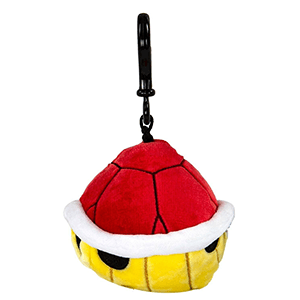 Llavero Peluche Mario Kart: Tortuga Roja 10cm