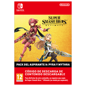 Super Smash Bros Ultimate - Pyra & Mythra Challenger Pack NSW
