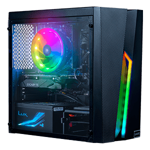 GAMEPC G322T GAMEPC G32T - I3-10100F - GTX 1650 SUPER 4GB - 8GB RAM - 480GB - Ordenador Sobremesa Gaming