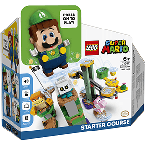 LEGO Super Mario Pack Inicial: Aventuras con Luigi