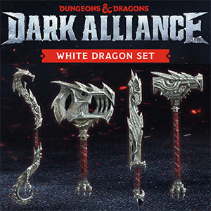 Dungeons & Dragons Dark Alliance - DLC White Dragon Set PS4