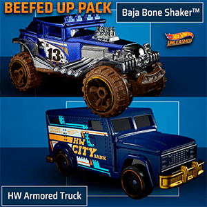Hot Wheels Unleashed - DLC Beefed Up Pack NSW