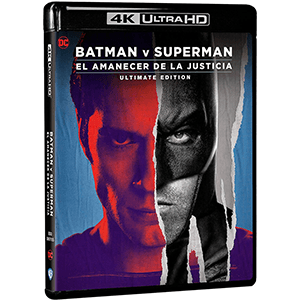 Batman VS Superman El Amanecer de la Justicia Ultimate Edition 4K