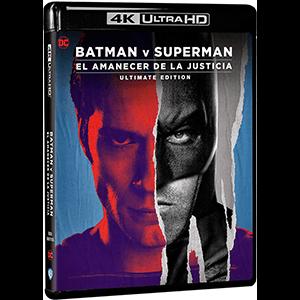 Batman VS Superman El Amanecer de la Justicia Ultimate Edition 4K