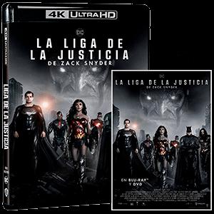 La Liga de la Justicia de Zack Snyder 4K + BD