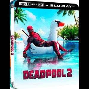 Deadpool 2 Edición Steelbook Lenticular 4K + BD