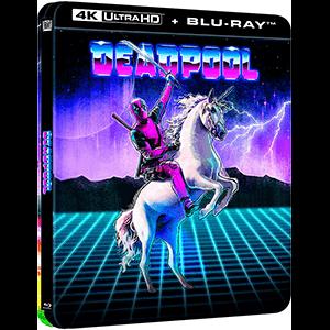 Deadpool Edición Steelbook Lenticular 4K + BD