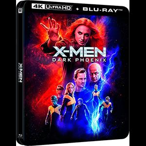 X-Men Fénix Oscura Edición Steelbook Lenticular 4K + BD