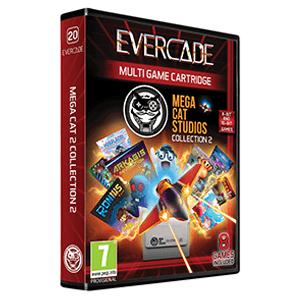 Cartucho Evercade Mega Cat 2