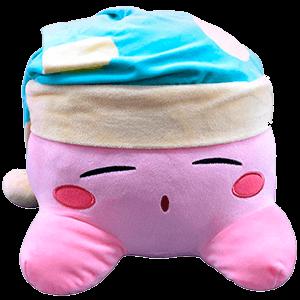 Peluche Kirby 30cm: Dormido