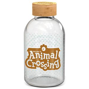 Botella de Cristal Animal Crossing 620ml